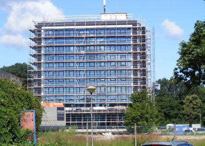 ADAC Hochhaus in Bremen Bauphase