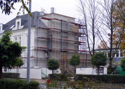 EWE Amalienstrasse Oldenburg Anbau Bauphase