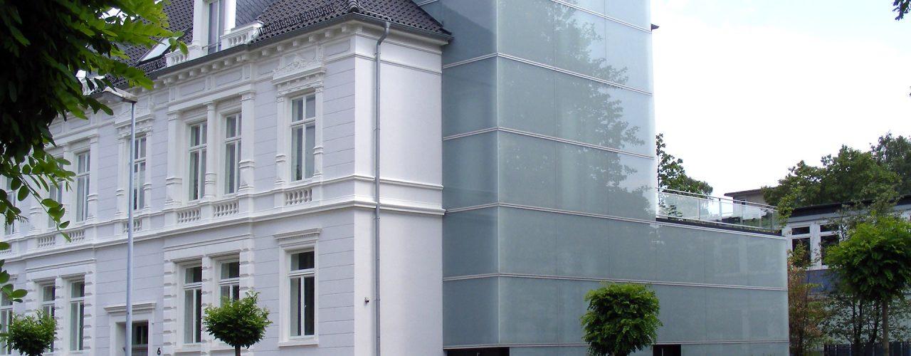 Moderner Gebäudeanbau in Oldenburg