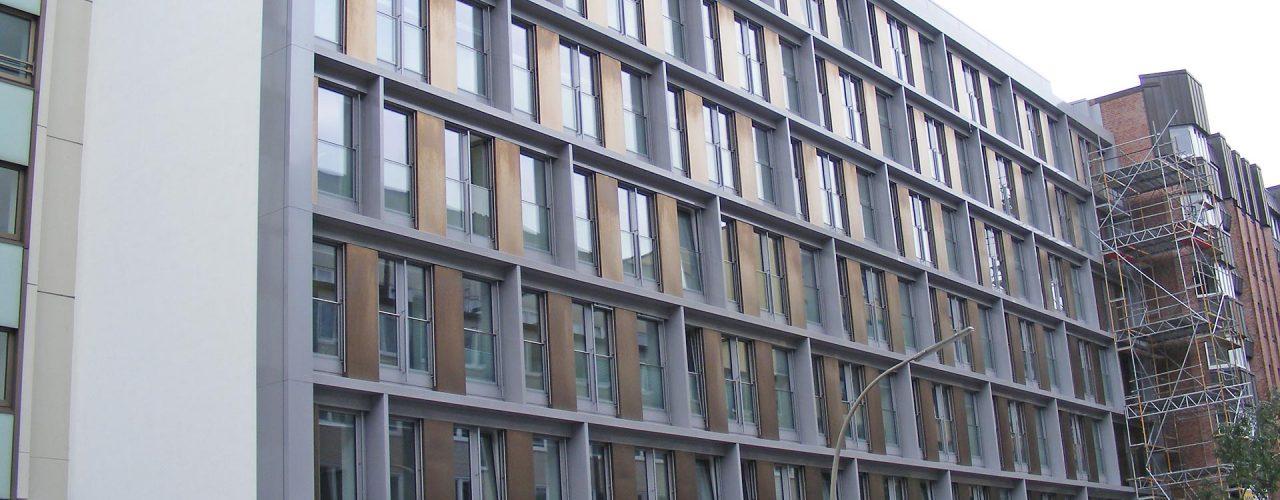 Fassade - Fensterverkleidungen Hanseatrium - nachher 01