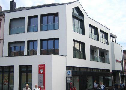 Fassadengestaltung Borkum Sparkasse