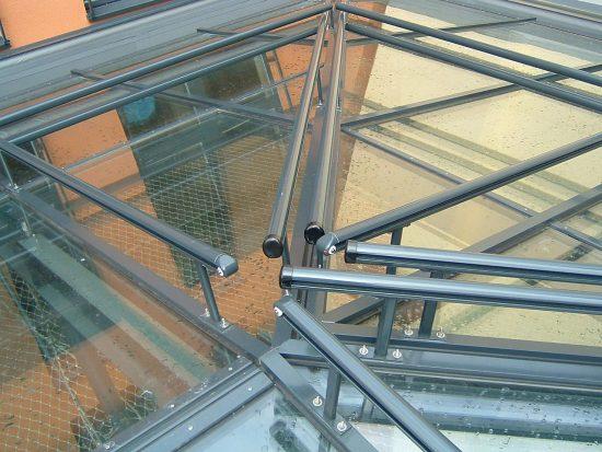 Glasdach-Konstruktion Am Wall Bremen Detail 01